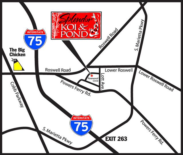 Map to Splendor Koi